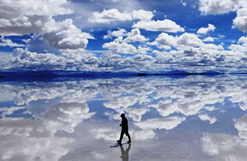 La Paz – Flat salt of the Uyuni <span>1 day <br> full day</span>