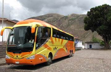 Bus Puno – Arequipa with tourist stops <span>half day <br> am only</span>
