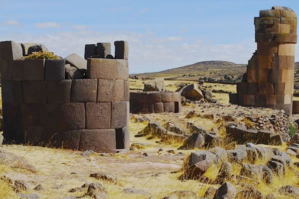 Chullpas of Sillustani Private  Tour in Puno <span>half day <br>am</span>